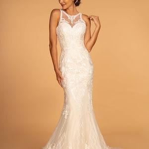 Jeweled Mermaid Wedding Dress GSGL2598
